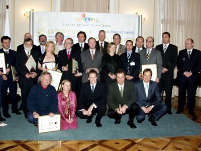 Strani turistički novinari, dobitnici priznanja Zlatna penkala