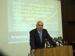 Siniša Horak, Institut za turizam