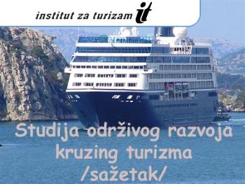 Studija održivog razvoja kruzing turizma