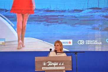 Grabar-Kitarovic opens Biograd Boat Show: Nautical tourism enriches and extends season